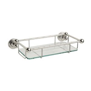 "6954 Perrin & Rowe 260mm (10"") Glass Shelf"